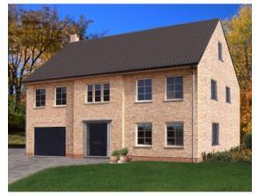 Projet de construction d'une villa de standing basse énergie , suite parentale avec sdb et dressing + 3 chambres et 2ème sdb;grenier am&