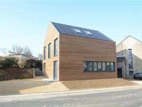 Barnich- Arlon, splendide maison neuve contemporaine composée comme suit: hall d'entrée, vestiaire, wc séparé, vaste s&eac