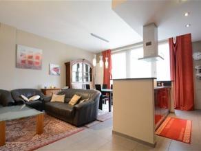 Arlon, dans le parc Callemeyn, très bel appartement de 85 m² composé comme suit: séjour avec cuisine ouverte donnant sur la