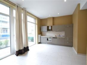Arlon dans résidence Callemeyn, splendide appartement 1 chambre, composé comme suit: hall d'entrée, séjour lumineux, cuisi