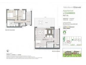 Dans une résidence de 5 unités, située dans une rue calme et en retrait de la route ,splendide duplex avec terrasse et jardin de
