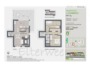 Dans une résidence de 5 unités, située dans une rue calme et en retrait de la route , splendide appartement duplex de 104 m²
