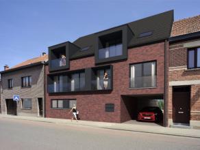 Klapperstraat 138, 9120 Beveren-Waas Nieuw, modern op te richten appartement, nabij het centrum en openbaar vervoer. Inkomhal, apart toilet, keuken, b
