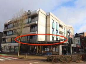 Een prachtig, net gerenoveerd appartement op de Bredabaan in Brasschaat. Overal ligt een nieuwe laminaat, en in de douchekamer staat een nieuwe douche
