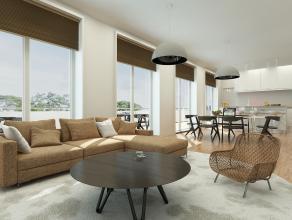 Fantastisch gelegen penthouse in het centrum van Mortsel met 86 m² terrassen en zicht op parktuin! Deze penthouse heeft toegang via een priv&eacu