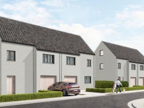 Lot 14 is een halfopen bebouwing in opbouw in een landelijke stijl op een grondopp. van 308 m² en met een totale bewoonbare oppervlakte van 168 m