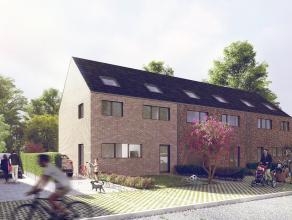 Lot 4 is een gesloten bebouwing in hedendaagse stijl op een grondopp. van 364 m² en met een totale bewoonbare oppervlakte van 139 m². Er zij