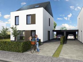 Lot 10B is een open bebouwing in een klassieke stijl op een grondopp. van 617 m². 90% uitverkocht!<br /> <br /> GELIJKVLOERS: inkom, wc, zeer rui