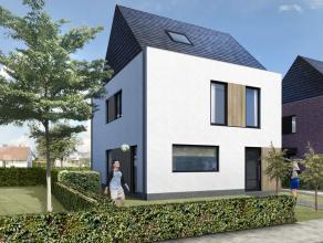 Lot 10C is een open bebouwing in een moderne stijl op een grondopp. van 617 m². 90% uitverkocht!<br /> <br /> GELIJKVLOERS: inkom, wc, zeer ruime