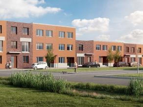 Lot 64 (fase 2) is een gesloten bebouwing op een grondopp. van 150 m². Deze woning is in opbouw en kan tamelijk snel afgewerkt worden. Eigentijds
