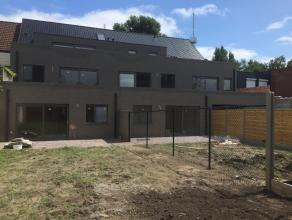 Trendy nieuwbouwappartement te huur in Lier! Modern nieuwbouwappartement gelegen op de gelijkvloerse verdieping met een grote zuidgerichte tuin en ter