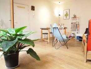 Rue Haute, superbe appartement de +/-80m² avec 2 terrasses, composé d'un séjour de +-20m² avec une terrasse, d'une cuisine ful