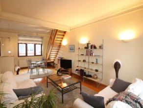 Quartier Ambiorix -  Lumineux appartement en duplex de +/- 85m² - Spacieux et lumineux living de +/- 35 m² avec espace cuisine ouverte full