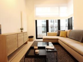 Place de la Monnaie - 1ère occuaption dans une contruction neuve - Splendide appartement meublé et équipé de +-125m²