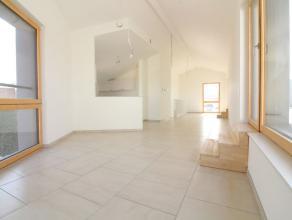 Proche de la rue Antoine Dansaert - Magnifique duplex de type passif de +/- 122 m²  Terrasse de +/- 51m² - Composé comme suit : Spaci