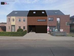 Hedendaagse nieuw te bouwen woning in centrum Beveren met zuid georiënteerde tuin op 460m² grond.  Deze woning omvat op het gelijkvloers een