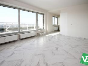 Volledig gerenoveeerd appartement te Borgerhout met uitzicht over stad Antwerpen!<br /> <br /> Dit appartement (op de 18e verdieping) geniet volgende