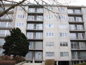 Lichtrijk appartement nabij stadscentrum. Omvattende: ruime inkomhal met vestiaire, zonnige leefruimte (parket), sas, volledig geïnstalleerde keu