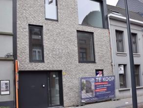 Duplex in centrum Lier met 2 slaapkamers en dakterras. Dit nieuwbouwappartement bestaat uit een woonkamer met keuken, berging, apart toilet en dak ter