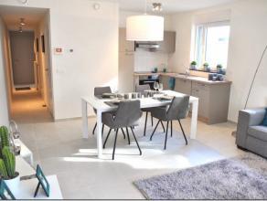 Appartement neuf situé à 5' du centre ville et à proximité de la gare comprenant hall d'entrée, cuisine ouverte sur