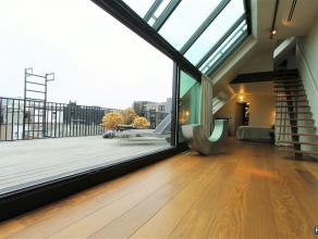 "Superbe, unieke high tech, luxe, duplex - penthouse - loft ""ZUID""Ondergebracht in nieuwbouw project ""ZUIDERS DOK""FURNISHED APPARTEMENT / GEMEUBELD APP"