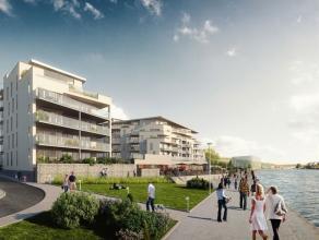 A proximité de la Meuse et au deuxième étage de la résidence du Port du Bon Dieu, superbe appartement neuf de 2 chambres e