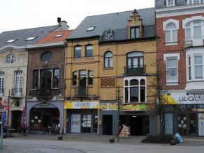 Schitterend gelegen eigendom in hartje Dendermonde met goed renderend handelsgelijkvloers en nog deels af te werken woongelegenheid op de bovenverdiep