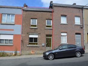 4102 ougrée - Rue des Trixhes, 3. Petite maison de ville, 2 façades. Idéal pour une personne seule, un jeune couple ou un investi