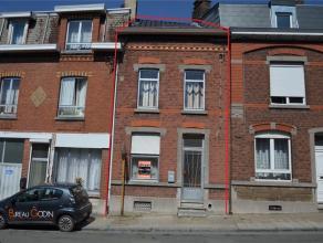 4102 Ougrée - Rue des Trixhes, 41. Jolie petite maison 2 façades, en bon état. Construite sur 3 niveaux, cette maison se compose
