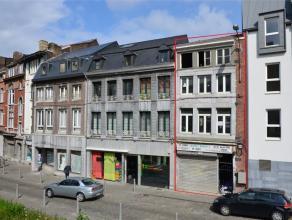 """Liège - Rue Saint séverin, 18. Idéalement situé face à l'Hotel 5***** """"Les Comtes de Méan"""" (Anciennement """"Cr"""