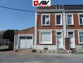 MESVIN (Mons) : Maison d'habitation ou immeuble de rapport (3 entités locatives) proche d'accès autoroutier. Composition : Sous Sol : Cu