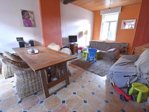 CENTRAAL gelegen RUIME 4 SLPK woning. Deze woning omvat: inkom, ruime lichtrijke leefruimte, ingerichte keuken met eetplaats, badkamer, kelder, waspla