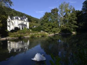 Somptueuse propriété d'exception sise sur Lustin. Cet ancien château avec dépendances est logé sur près de 3