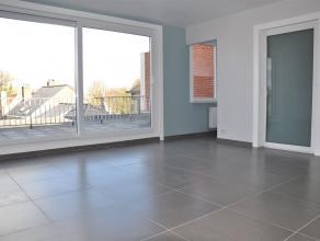 Instapklaar gerenoveerd appartement met groot terras. Dit appartement omvat een inkomhal met gastentoilet en badkamer met lavabomeubel en inloopdouche