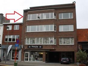 Dit appartement gelegen op de derde verdieping (met lift) heeft de volgende indeling: een inkomhal (26m²), een ruime living (60m²) met veel