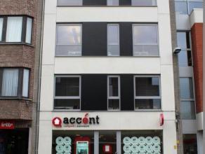 In het centrum van Brasschaat., een aangenaam één slaapkamer appartement (oppervlakte 50 m²) in een recent gebouw. Het appartement