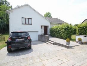 Belle villa avec beau jardin près de l'école britannique situé dans un quartier résidentiel à Tervuren. Rez-de-chau