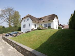 Spacieuse villa avec une situation idéale à Tervuren, dans un lotissement résidentiel, tout près du parc et de la for&ecir