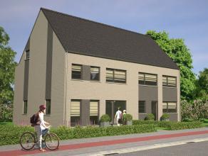 2 halfopen en 1 open nieuwbouwwoning, gelegen in een rustige straat en groen buitengebied met superaansluiting op de verbindingsweg R6 Mechelen-Noord