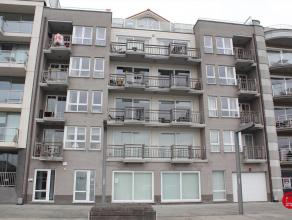 """Dit instapklaar 2-slaapkamer appartement is gelegen op de 4de verdieping van de residentie """"Eye of the Wind"""" op het einde van de Rederskaai te Zeebrug"""