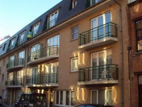 Gezellig appartement bestaande uit inkomhal met vestiairekast, leefruimte, open ingerichte keuken, badkamer met douche, 1 slaapkamer, balkon, kelderbe