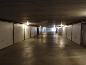 Privatieve garagebox Ondergrondse garagebox te huur met geautomatiseerde poort. Huurprijs te vermeerderen met jaarlijkse afrekening gemeenschappelijke