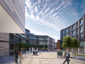 De wijk nieuw leven inblazen Dit complex voor gemengd gebruik, in het kloppende hart van het historische centrum van Leuven en op een boogscheut afsta