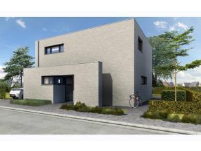 Moderne nieuwbouwwoning op 392 m², gelegen in een rustig straatje! Via de inkomhal met apart toilet komen we in de gezellige leefruimte met veel