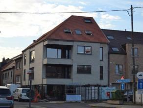 Prachtig, stijlvol nieuwbouw appartement 1e verdieping in het centrum van Meise, bestaande uit een inkom met vestiaire, een ruime woonkamer met