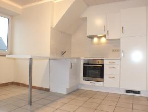 Gezellig appartement met balkon - terras aan de stadsrand van Aalst. Ruime living met schuifraam naar terras, nieuwe open keuken met alle nodige toest