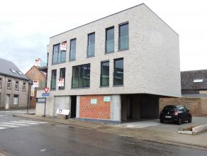 Prachtig nieuwbouwappartement te huur in het centrum van Terjoden (Erembodegem). Dit appartement wordt voor de eerste maal bewoond en bevindt zich op