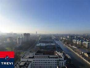 BRUXELLES, (20G) au 20ème étage de la toute nouvelle et prestigieuse tour UPSITE alliant luxe, modernité et sécurit&eacute