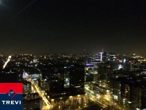 BRUXELLES, (3D) au 3ème étage de la toute nouvelle et prestigieuse tour UPSITE alliant luxe, modernité et sécurité,