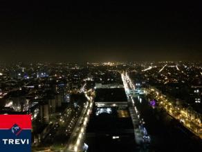 BRUXELLES, (24H) au 24ème étage de la toute nouvelle et prestigieuse tour UPSITE alliant luxe, modernité et sécurit&eacute